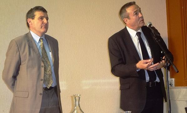 Xavier Breton et Jean-Yves Flochon, une confiance réciproque