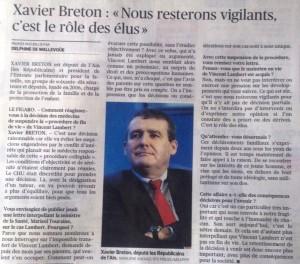 Le Figaro Itw de Xavier Breton Situation de Vincent Lambert 24.07.15